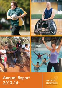 Reclink Annual Report 2013-2014