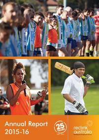 Reclink Annual Report 2015-16