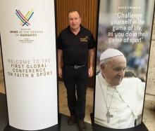 Reclink Australia, Peter Cullen AM, Pope Francis, Balance, Sport