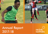 Reclink Australia Annual Report 2017-18